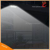 indicatore luminoso alimentato solare luminoso del giardino di cena 66LED, indicatore luminoso solare del LED, lampada solare esterna dell'indicatore luminoso solare della parete
