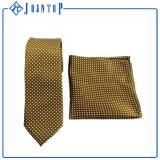 絹によって編まれる均一ネクタイおよびポケット正方形