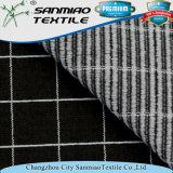 Tessuto lavorato a maglia di lavoro a maglia del denim controllato il nero dello Spandex del tessuto di stirata di 4 modi per i jeans