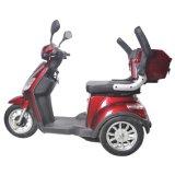 Novo design 500W 3 rodas desabilitado Scooter Trike, triciclo adulto elétrico com assento confortável (TC-020)