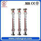 Medidor de nivel reversible magnético de columna 304 de acero inoxidable