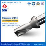 Модель Ud20 сверла Drilling инструментов u CNC Indexable. Sp11.340. W32 от Zhuzhou Sant с вставкой Spgt110408 или Spmg110408 карбида