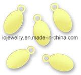 Naamplaatjes van de Juwelen van de douane de Zilveren Duidelijke Geëtsten