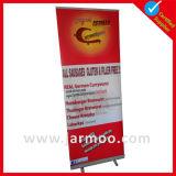 bandiera ritrattabile di esposizione di alluminio 85*200cm del basamento di 80*200cm