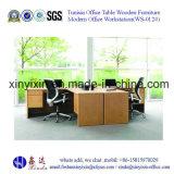Moderne MDF-Personal-Büro-Schreibtisch-Arbeitsplatz-Möbel (WS-09#)