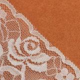 卸し売りポリエステルウェディングドレスのための装飾的な縫う花嫁のレースのトリム