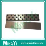 Placa de desgaste de metal de latão com bujão de grafite