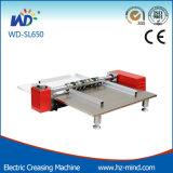 Semi-automática de papel hendido y la perforación de la máquina (950 mm de WD-SL950)
