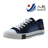 Помытые ботинки холстины Bf169077 джинсовой ткани верхние классицистические