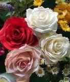China fornecedor de flores artificiais falsas de plástico baratos para venda