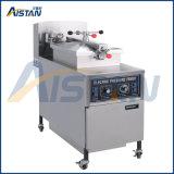 Type 304 friteuse électrique ou de gaz de pression de puce d'acier inoxydable de matériel de boulangerie