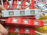Голубой модуль витринного освещения СИД