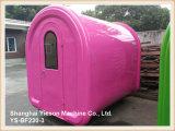 Chariot coloré de crême glacée de kiosque de nourriture de chariot de Crepe de la qualité Ys-Bf230-3 à vendre