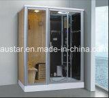 sauna combiné par vapeur de 1700mm avec la douche (AT-D8859)