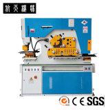 Corte de perfuração da folha de metal do tipo de Hangli entalhando a máquina, Ironworker Q35Y-12