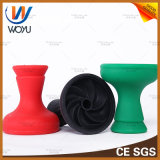 Vortex irrompible Hookah Shisha Pipe silicona Tazón Hokkah Melaza Tabacco