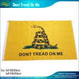 La storia dell'America non tratta su me la bandierina degli S.U.A. Gadsden 1775 (J-NF05F09099)