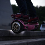 Uno mismo elegante de dos ruedas que balancea la vespa eléctrica con el altavoz sin hilos de Bluetooth y las luces del LED