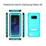 para a galáxia de Samsung S8 Waterproof a caixa do telefone móvel