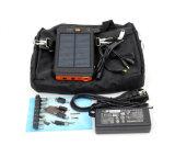 Abitudine mobile universale alimentazione elettrica mobile solare di 12000 mAh