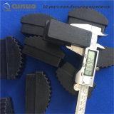 Preiswerte überlegene schwarze Gummistrichleiter-Füße