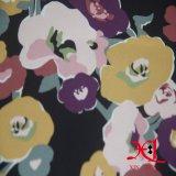 복장 Hijab를 위한 100%년 폴리에스테 인쇄 시퐁 직물