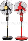 """16 da """" ventilador solar recarregável do ventilador 12V do carrinho do ventilador C.C."""