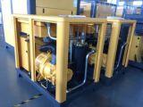 Compresor de tornillo rotativo combinado con el secador y depósito