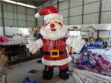 2016 아이를 위한 최신 판매 크리스마스 팽창식 뛰어오르는 쾌활한 성곽