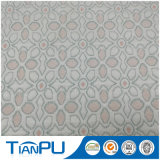 Deisgn neuf a tricoté le tissu 100% de matelas de jacquard de polyester