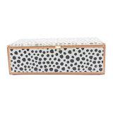 Glas angebrachter Muster-Kasten-Schmucksachen Storsge Geschenk-Kasten Jb-1055b