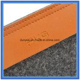 Шерсти фабрики изготовленный на заказ чувствовали портативный мешок руки компьтер-книжки, подгонянный мешок портфеля компьтер-книжки подарка промотирования с застежкой -молнией