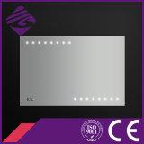 Jnh178 Date Salle de bain Design Rectangle Point de LED Smart Mirror