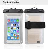 Heet Verkopend Mobiel pvc van de Telefoon Waterdichte Zak die Waterdicht Geval voor iPhone 7plus/Samsung S8 zwemmen