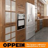 Madeira de carvalho vermelho Rural Oppein Grão armário de cozinha (PO16-S04)