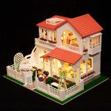 DIY Minihaus-hölzernes Puppe-Haus