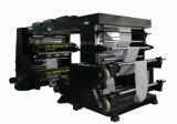 Точность Flexographic печатной машины цвета пленки 4 бумаги крена высокоскоростная высокая