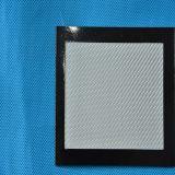 Telas de la fibra de vidrio, tela del hilado de la fibra de vidrio, hilado que teje el grano cruzado