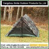 2 Pessoa em aço galvanizado triângulo em Clima Frio Camping temporário de lona