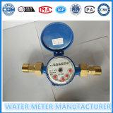 4 ponteiros 5 dígitos Water Meter Single Jet
