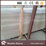 Serpeggiante/Serpegianteのロビーのフロアーリングデザインのための石造りの流木の大理石の平板