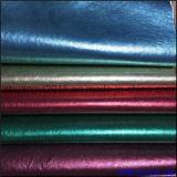 Металлические одежды PU Colorfur кожаный материальные