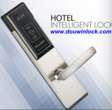 Electronic Gold Panel Hotel Card Door Lock