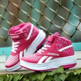 De Schoenen van de Rol van het Leer van de manier Pu met Intrekbare Rol voor Kinderen, de Sport van de Tennisschoenen van de Schoenen van de Rolschaats van Jongens van China