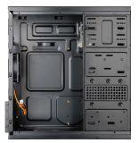 Cassa nera del calcolatore Case/PC di ATX