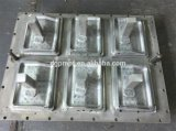 6061 7075 stampaggi ad iniezione di plastica lavorati CNC antiruggine della lega di alluminio per i prodotti della gomma piuma di ENV