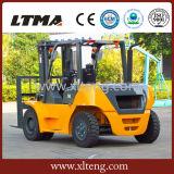 Nuevos carros de Ltma carretilla elevadora diesel de 5 toneladas con el motor de Mitsubishi