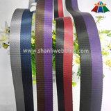 correas de nylon rayadas los 3cm bicolores del poliester de los 2.5cm