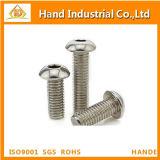Нержавеющая сталь ISO7380 M8 с полукруглой головкой