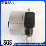 Tous en acier inoxydable Photoelectricity manomètres de contact électrique